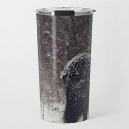 Snow Covered Travel Mug