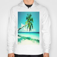 palms Hoodies featuring Palms by Sankakkei SS