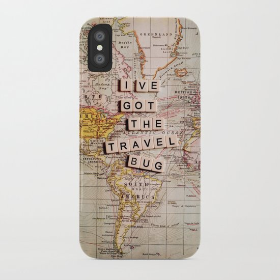 I've got the travel bug iPhone Case