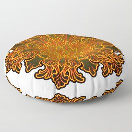 Filigree v1 Floor Pillow