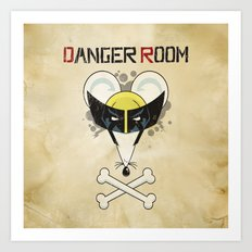 Danger Room Art Print