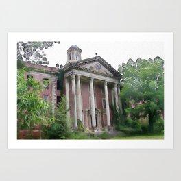 Jones Building - Central State Hospital Art Print