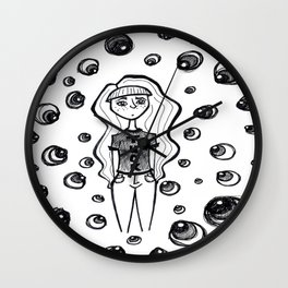 Sleep-away Anxiety Wall Clock