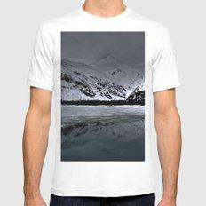 Alaska White MEDIUM Mens Fitted Tee