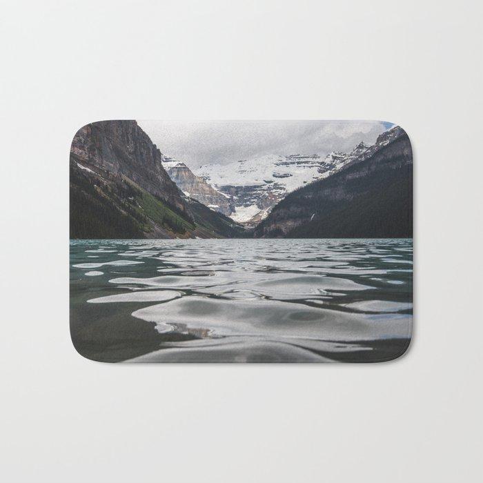 Lake Louise Mountain View Bath Mat