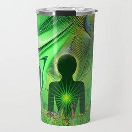 Heart Chakra Energy. Travel Mug