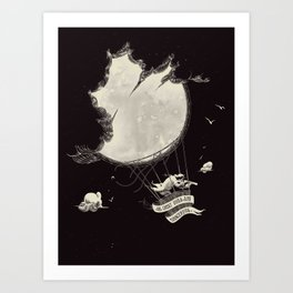 great idea Art Print