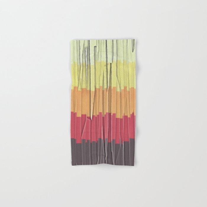 Shreds of Color 5 Hand & Bath Towel