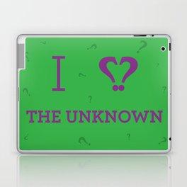 I heart The Unknown Laptop & iPad Skin