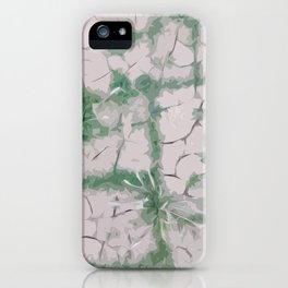 Green Grout iPhone Case