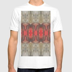In the Red SMALL Mens Fitted Tee White