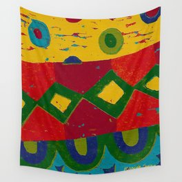 Reduction in colour Wall Tapestry