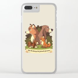 Forever is a Long Time Clear iPhone Case