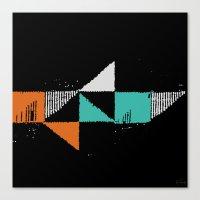 shark Canvas Prints featuring Shark by Last Call