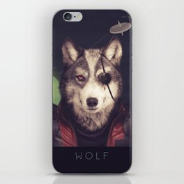 Star Team - Wolf iPhone Skin