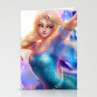 elsa Stationery Cards featuring Elsa by ChrySsV