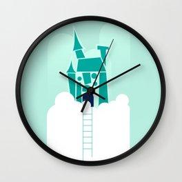 Cloud Castle Wall Clock