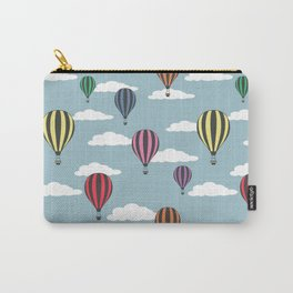 Colorful hot air balloons Carry-All Pouch