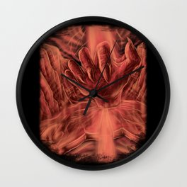 Playing God Wall Clock