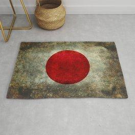 The national flag of Japan Rug