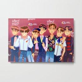 BBMAS BTS Metal Print