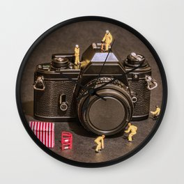 The Focus On Film Corporation Wall Clock