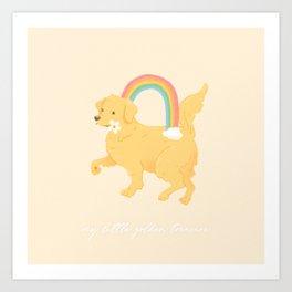 Golden Retriever Art Print