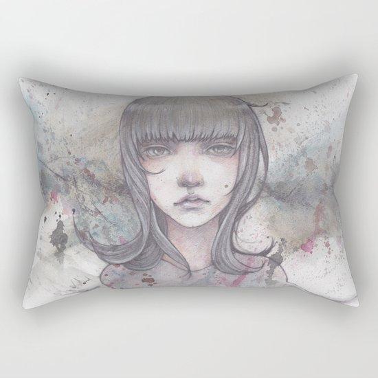 passed away Rectangular Pillow