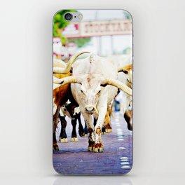 Texas Stockyards iPhone Skin