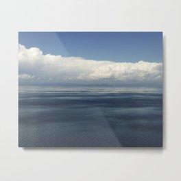 Lake Reflections II Metal Print