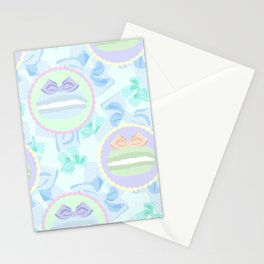 Grande Macarons & Bows Stationery Cards