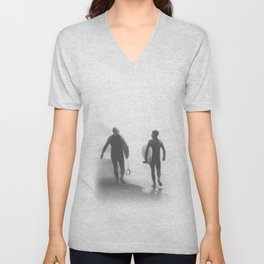 Surfers bond Unisex V-Neck