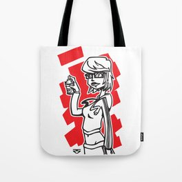 Graffiti Girl (alternative) Tote Bag