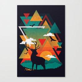 New Ridges Canvas Print