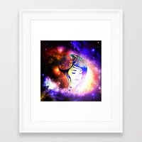 iris Framed Art Prints featuring Iris  by haroulita
