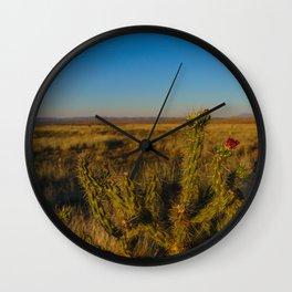 Arose in the Desert Wall Clock
