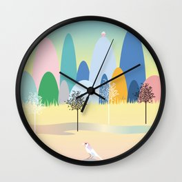 The House on the Hill Wall Clock