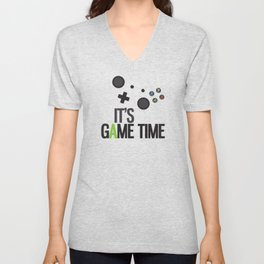 It's Game Time Unisex V-Neck