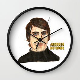 JACQUES DUTRONC Wall Clock