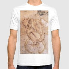 Metamorphosis K Mens Fitted Tee MEDIUM White
