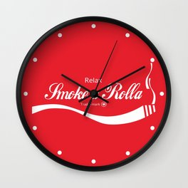 Relax - Smoke a Rolla Wall Clock