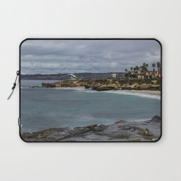 Casa and Wipeout Beaches, La Jolla, California Laptop Sleeve
