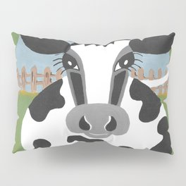 Lucy The Cow Pillow Sham