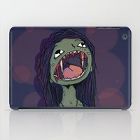 vampire iPad Cases featuring Vampire by charcola