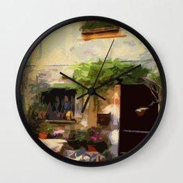 Patio Wall Clock