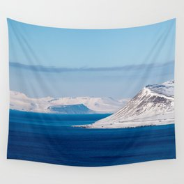 Svalbard Norway Polar Arctic Landscape Wall Tapestry