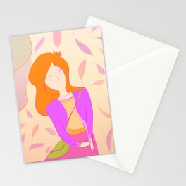 Afternoon Walk Stationery Cards