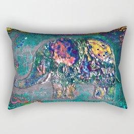 Fantastic elephant Rectangular Pillow