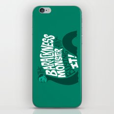 Barackness Monster iPhone & iPod Skin