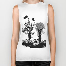 The Whale and The Balloons Biker Tank